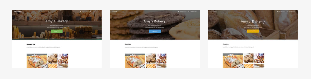 small business website